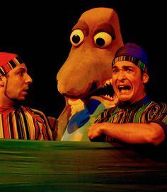 Espetáculo Guarda Zool da Cia Circo de Bonecos
