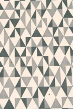 Vintage formica triangles pattern
