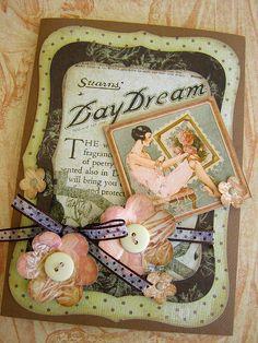 Graphic 45 Le Romantique Card by Dianne McInrue