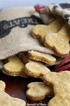 DIY Peanut Butter Pumpkin Dog Treats - Spoonful of Flavor