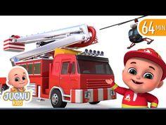 (643) Fire Brigade Truck | Tractor Cartoon, Fire Truck | Surprise Eggs Toys from Jugnu Kids - YouTube Egg Toys, Fire Trucks, Tractors, Eggs, Cartoon, Youtube, Food, Egg, Fire Truck