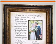 Wedding Gift for Parents of the Bride and Groom