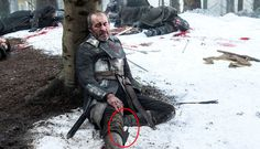 10 Mistakes You Never Noticed On 'Game Of Thrones': that time Stannis's laptop cord was showing