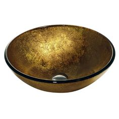 Liquid Gold Vessel Sink - Vigo