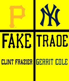 There are reports that a trade would be a Gerrit Cole Clint Frazier swap . . . . . . . . Tags:#pirates #yankees #pittsburgh #newyork #gerritcole#clintfrazier #trades #mlb #baseball