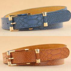 982fee188 2.22 36% de DESCUENTO Aliexpress.com: Comprar Kimisohand nuevo gran venta  moda femenina cinturón de cuero cinturones de cintura de grano para mujeres  cinto ...