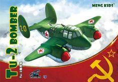 Meng Tu-2 Bomber  'Meng Kids' - MMMP004 - Miscellaneous Scale