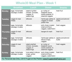 Looking for an easy Whole30 meal plan for those busy weeknights? These recipes are easy to make, won't hurt your budget, and are delicious too!