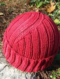Rarely do I see a knitted project that I would make for my husband, but he needs this hat.
