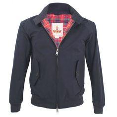 Baracuta Petrol Blue G9 Harrington Jacket