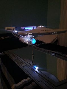 Limited Edition Star Trek Enterprise Refit Artisan Model made by QmX