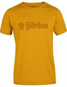 2803c2dd8e3619 FjallRaven Retro T-shirt - Yellow