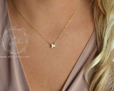 Personalized Heart Necklace Initial by LoveAlwaysXODesigns on Etsy