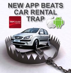 New car rental excess app