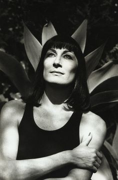 Anjelica Huston, Los Angeles by Helmut Newton