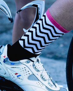 Mack Cycling ZigZag socks