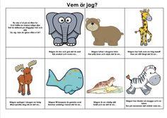 Mariaslekrum - Illustrerade gåtor. Learn Swedish, Swedish Language, Teaching Materials, Education, Comics, Children, Poster, Montessori, Inspiration
