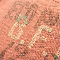 DENIM DUNGAREE(デニム&ダンガリー):裏毛BFFパーカー 45LOR淡オレンジ の通販【ブランド子供服のミリバール】