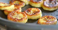 "snack ""Fried"" Honey Banana from Rachel Schultz Fried Honey Bananas, Breakfast Recipes, Dessert Recipes, Recipes Dinner, Entree Recipes, Paleo Dessert, Dessert Ideas, Breakfast Ideas, Dinner Ideas"