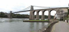 Wales, Menai Bridge