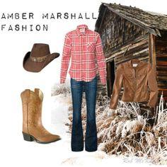 Amber Marshall Fashion by usheartlandlove on Polyvore