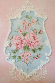 ROYAL ROCOCO FRENCH BOISERIE PANELS ORNAMENTAL DECORATIVE PAINTING by Jonny Petros