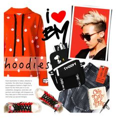 """""""In My Hood: Cozy Hoodies"""" by xiandrina ❤ liked on Polyvore featuring Au Jour Le Jour, ban.do, Aspinal of London, Golden Goose, Fashion's Night Out and Hoodies"""