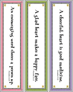 bookmark template for word