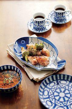 ダンスクの食器はお皿一枚、カップひとつでもインテリア雑貨になります。使わない時は見せる収納なんていかがでしょうか。