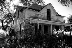 Abandoned house in Lipscomb, TX