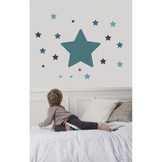 Voici lestickerEtoile bleu de Art for Kids.    Un sticker…