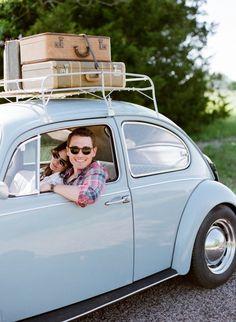 A Romantic Road Trip Engagement | Jenny McCann Photography on @acoastalbride via @aislesociety