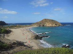 Plage de Sa Mesquida, Minorque (îles Baléares - Espagne)