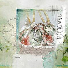 Romantique shopping bag - lecoqchante shabby, country e bomboniere