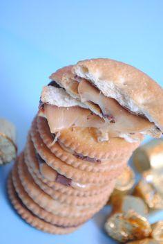 Rolo Stuffed Ritz Crackers | Something Swanky