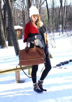 Winter Weekend Essentials (wearing @solesociety @oldnavy @targetstyle)