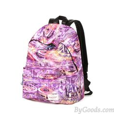 Original City Highway Lights Pattern College Travel Computer Backpack only $36.99 in ByGoods.com!