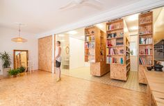 Tiny Transforming Apartment by PKMN Architectures 5 • TheCoolist - The Modern Design Lifestyle Magazine