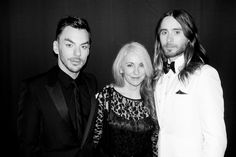 Jared Leto.- Getting ready for the Oscars with mom and Shannon (via http://jaredleto.com/thisiswhoireallyam/2014/03/02/getting-ready-for-the-oscars-with-mom-shannon-emma-terry/ ) Photo by Terry Richardson