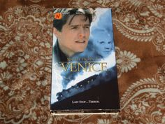 Night Train to Venice (VHS, 1995) OOP LIVE Grant/McDowell Thriller! *NOT ON DVD*