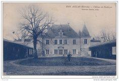 Frankreich - 33) AILLAS (GIRONDE) CHATEAU DE VERDUZAN - (ANIMEE - 2 SCANS)