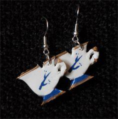 Rumbelle Chipped Cup Earrings