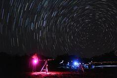 Star trails taken during the Tillari Star Party.