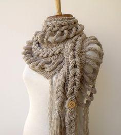 Оригинальный шарф (Diy)