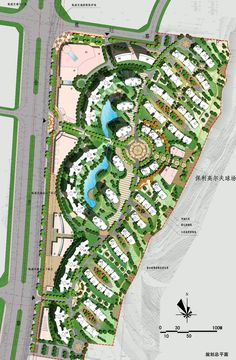 residential house planing design master plan landscape