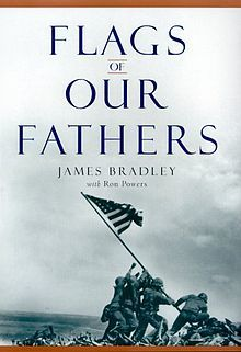 Flags of Our Fathers by James Bradley and Ron Powers. This book documents the taking of Iwo Jimo in WWII. The author's dad was a medic in the Navy and one of the flag raisers on Iwo Jima. A great documentary! Flags Of Our Fathers, Battle Of Iwo Jima, Books To Read, My Books, Real Hero, Military History, Great Books, Amazing Books, World War Ii