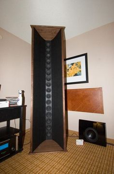 open baffle line array speakers - Google Search