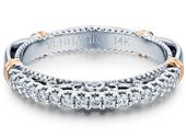 #Verragio, #Wedding, #Bands, #WhiteStone Verragio Wedding Bands, Wedding Ring Bands, White Stone, Jewelry Branding, Engagement Rings, Bracelets, Fashion, Enagement Rings, Moda