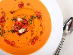 Vegetables, Salt, and the Science of Perfect Gazpacho The Food Lab Serious Eats Serious Eats, Soup Recipes, Snack Recipes, Cooking Recipes, Gaspacho Recipe, Gazpacho Soup, Tomato Gazpacho, Gastronomia, Portuguese Recipes