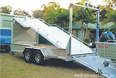 boat car trailer | car&boat trailer 4